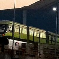 Photo taken at Mumbai Monorail Depot Building by Zhivaan R. on 1/22/2014