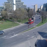 Photo taken at Парк на новинарите by Hkn S. on 3/19/2016