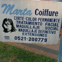 Photo taken at marta coiffure by Ada R. on 8/13/2016