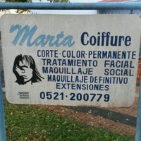 Photo taken at marta coiffure by Ada R. on 8/15/2016
