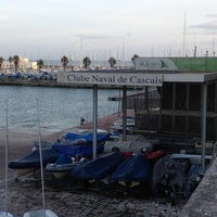 Photo taken at Clube Naval Cascais by Smmac on 1/1/2013