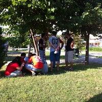 Photo taken at Mevlana Parkı by Hasan A. on 9/14/2014
