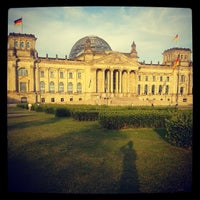 Photo taken at Reichstag by Massimiliano Z. on 6/13/2013