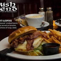 Photo taken at The Irish Legend by Ed S. on 4/3/2014
