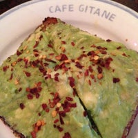 Photo taken at Café Gitane by Rosie E. on 12/4/2012