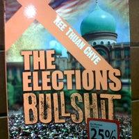 Photo taken at Harris Bookstore by Nurshaqinah R. on 10/18/2013