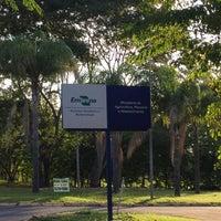 Photo taken at Embrapa Recursos Genéticos e Biotecnologia - CENARGEN by Luciana L. on 5/24/2015