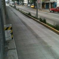 Photo taken at Metrobus Estacion Heroe de Nacozari by David M. on 9/25/2013