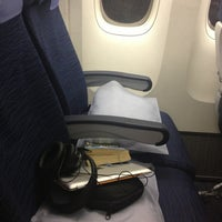 Photo taken at United Airlines Flight 608 by Pedro S. on 1/30/2013