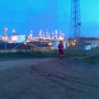 Photo taken at Connoco Philips Suban Gas Plant by Rizal L. on 7/29/2013