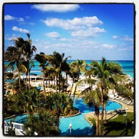 Photo taken at Meliá Nassau Beach by Brittan B. on 1/25/2013