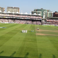 Photo taken at Lord's Cricket Ground (MCC) by Marc M. on 7/21/2013