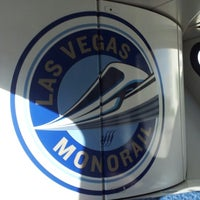 Photo taken at Las Vegas Monorail - MGM Grand Monorail Station by Michael B. on 10/13/2012