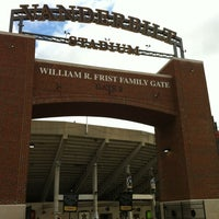 Photo taken at Vanderbilt Stadium - Dudley Field by Steve J. on 10/20/2012
