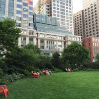 Photo prise au The Rose Kennedy Greenway par Steve J. le7/12/2015