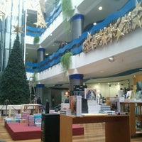 Photo taken at Livraria Solmar by Miguel G. on 11/15/2012