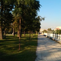 Photo taken at Hasbahçe Parkı by Tolga Ş. on 9/22/2012