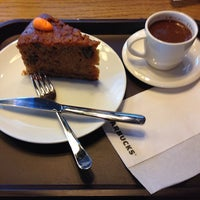Photo taken at Starbucks by Melih E. on 5/28/2014