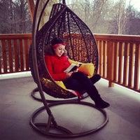 Снимок сделан в Welna Eco Spa Resort пользователем Yulia Kostikova 1/1/2014