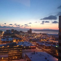 Photo taken at Sheraton Anchorage Hotel & Spa by Cindy P. on 4/11/2013