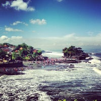 Photo taken at Tanah Lot Temple by yaarifin on 6/29/2013