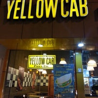 Photo taken at Yellow Cab Pizza by Ahmed B. on 10/5/2012