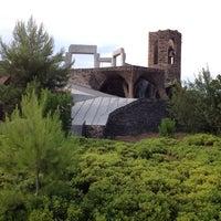 Photo taken at Cripta Gaudí by Maxim K. on 7/23/2013