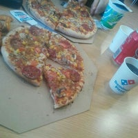 Photo taken at Domino's Pizza by Esra B. on 2/20/2017