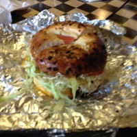 Photo taken at Chicago Bagel Authority by Andrea G. on 9/21/2013