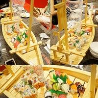Photo taken at Edo Kaiten Sushi by Amanda K. on 6/19/2014
