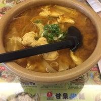 Photo taken at 甘泉魚麵(淡江店) by Jeremy C. on 4/16/2015
