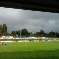 Photo taken at Estadio Xesus Garcia calvo by Rebeca A. on 9/23/2012