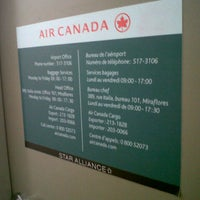 Photo taken at Air Canada back office by Car B. on 11/27/2012