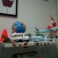 Photo taken at Air Canada back office by Car B. on 4/2/2013