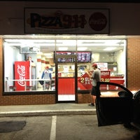 Photo taken at pizza911 by Mike B. on 10/4/2012