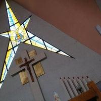 Photo taken at Parroquia de Nuestra Señora Aparecida del Brasil by Gerardo H. on 7/28/2013
