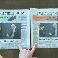 Photo taken at The Wall Street Journal by Mihir Y P B. on 9/16/2016