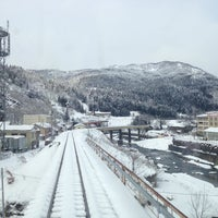 Photo taken at 姫川温泉 ホテル朝日荘 by 絶対永久皇帝 ★. on 1/12/2014