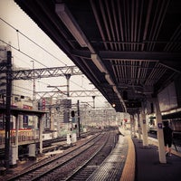 Photo taken at Juso Station (HK03) by くめ ぽ. on 6/26/2013