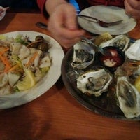 Photo taken at Abalonetti Seafood Trattoria by Bookspace on 6/7/2016