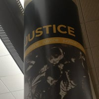 Photo taken at The Justice Pillar by Laura S. on 12/19/2012