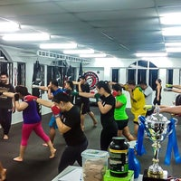 Photo taken at Borneo Tribal Squad MMA & Fitness Factory by Mohammad E. on 1/29/2015