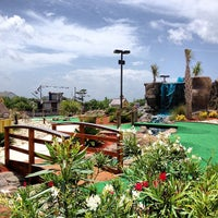 Photo taken at Adventure Golf by Nick S. on 7/2/2013