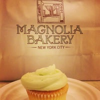 Photo taken at Magnolia Bakery by Nick S. on 5/16/2013