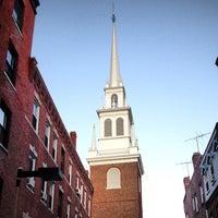 Photo prise au The Old North Church par Backyard Tourist le8/21/2013