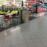 Photo taken at Auchan Fehér tó by Kittu Lídia K. on 5/17/2016