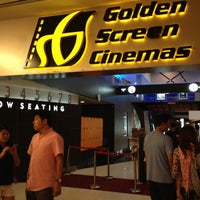 Photo taken at Golden Screen Cinemas (GSC) by LoNeLy G. on 4/27/2013