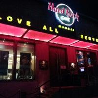 Photo taken at Hard Rock Café Mumbai by Izwan S. on 12/9/2012