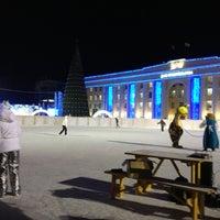 Снимок сделан в Площадь Ленина пользователем Vitaly Z. 12/25/2012