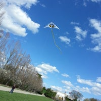 Photo taken at Ault Park by Tegan S. on 4/13/2013